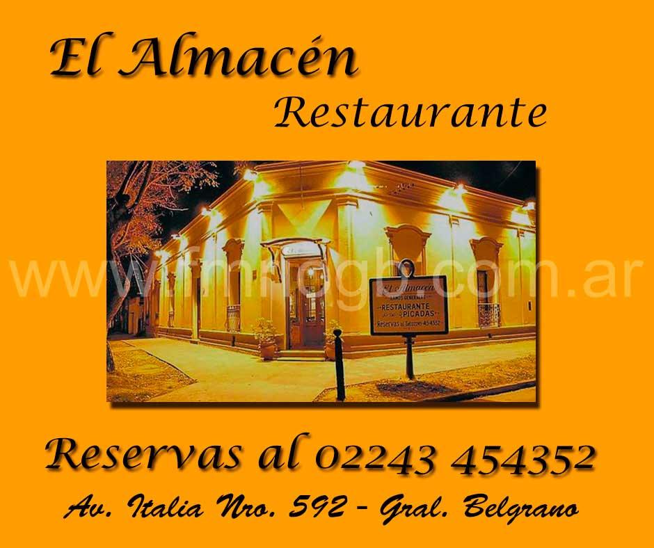 El Almacén restaurante general belgrano