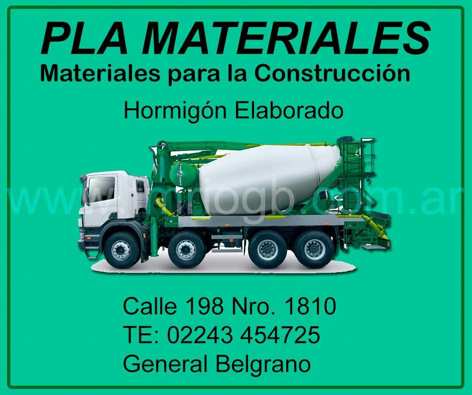 Pla Materiales General Belgrano